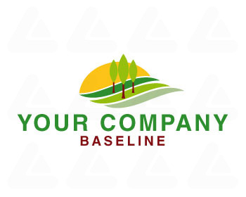 Ready made logo: landscape