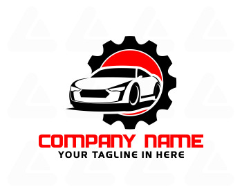 Ready made logo: car repair