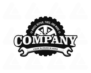 Logo design: TIRE REPAIR