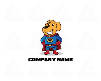 Ready made logo: super dog