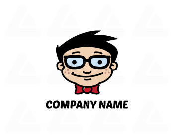 Ready made logo: Geek