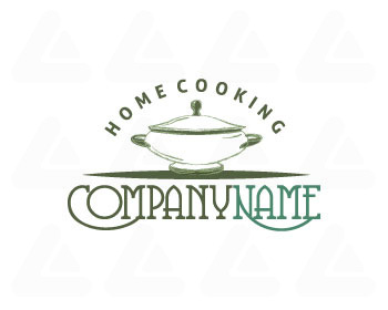Logo pronto in vendita: Cooking