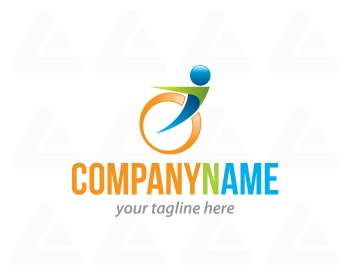 Ready made logo design: Active Disable