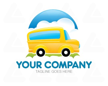 Ready made logo design: School Bus