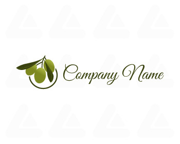 Ready made logo: olive