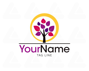 Ready made logo design: tree