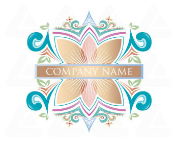 Ready made logo: beauty floral