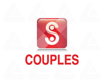 Ready made logo: couples