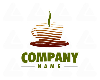 Ready made logo: coffee