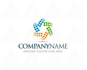 Logo design: Pixel Transform