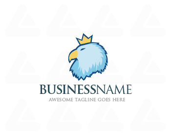 Fertige logo: Crown Bird