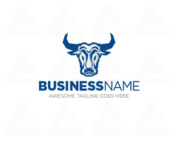 Ready made logo: Bull Mascot