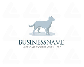 Ready made logo: Dog Knight