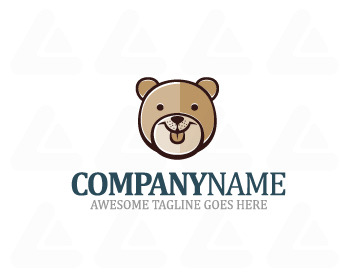 Logo: Teddy Bear Head