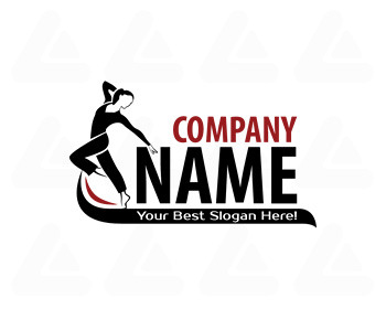 Ready made logo: Dance / gym / training Logo