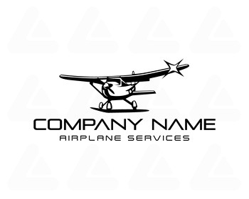 Ready made logo: Plane Service