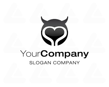 Logo design: Heart-Devil