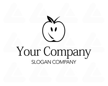 Ready made logo: Apple