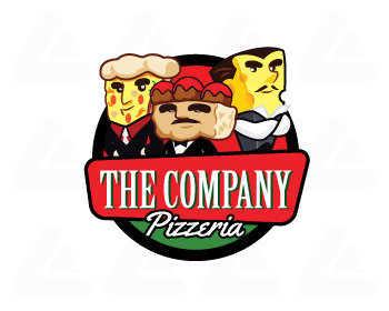 Logo pronto in vendita: Godfather of Pizza