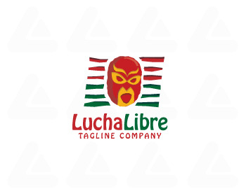 Ready made logo: Lucha Libre