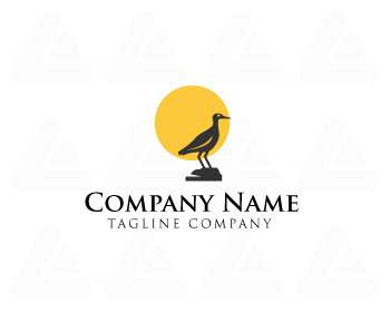 Ready made logo: Bird