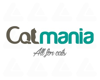 Ready made logo design: catmania