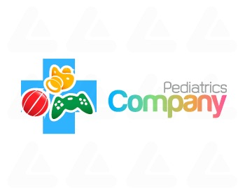 Ready made logo design: Pediatrics