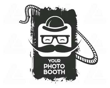 Fertige logo: Photo Booth