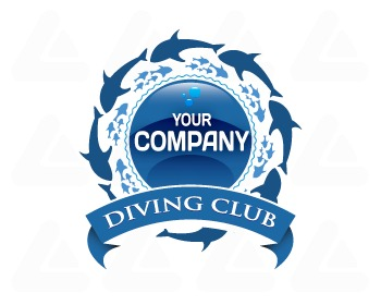 Ready made logo: Diving Club