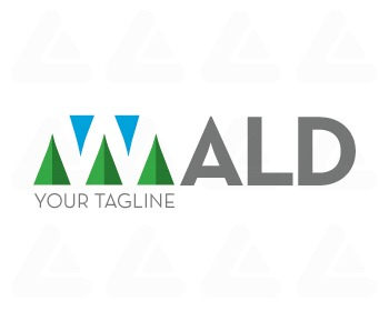 Ready made logo design: Wald