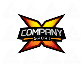 Ready made logo design: X Sport