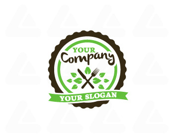 Ready made logo: Organic Food