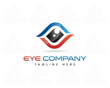 Ready made logo: Eye