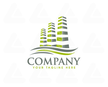 Ready made logo design: Buildings Logo