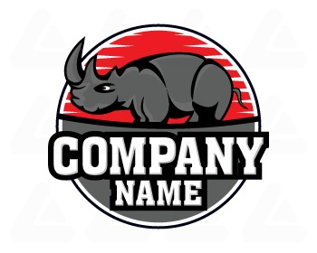 Ready made logo: Rhino