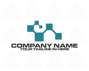 Logo design: dirty pixel