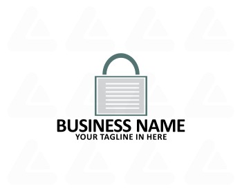 Ready made logo design: safe note