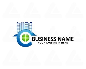 Ready made logo design: clean service window