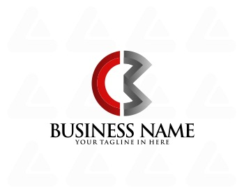 Ready made logo: initials CM