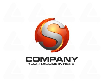 Ready made logo: tech S