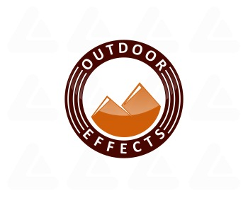 Ready made logo design: 2 mountain