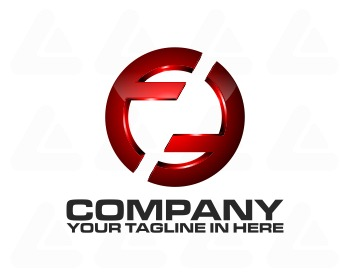 Ready made logo design: tech double F