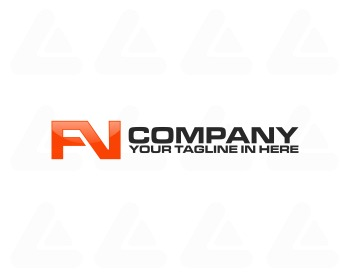 Ready made logo: initial FN