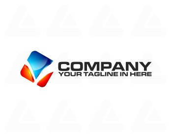 Ready made logo design: tech L