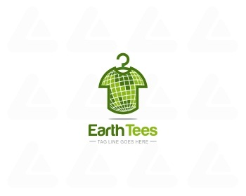 Logo design: EARTH TEES