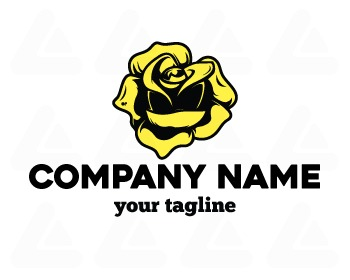 Ready made logo: Rose