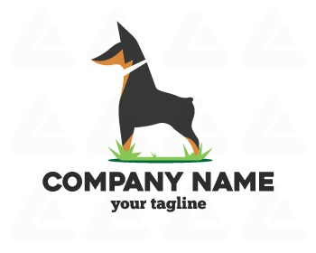 Ready made logo: dog
