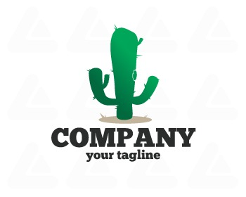 Ready made logo: saguaro