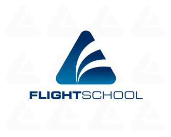 Logo pronto in vendita: Flight School 2