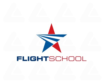 Fertige Logo: Flight School 3